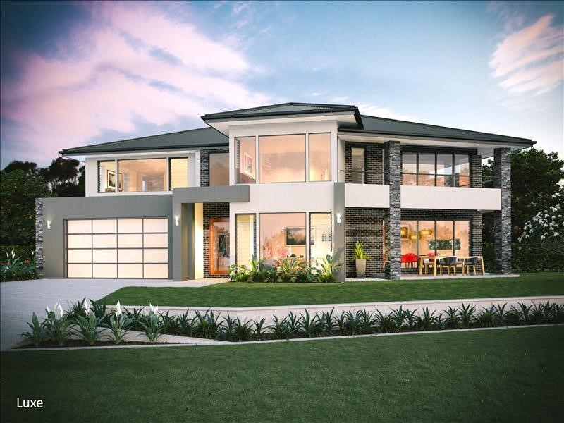 Building Franchise cutom Home render